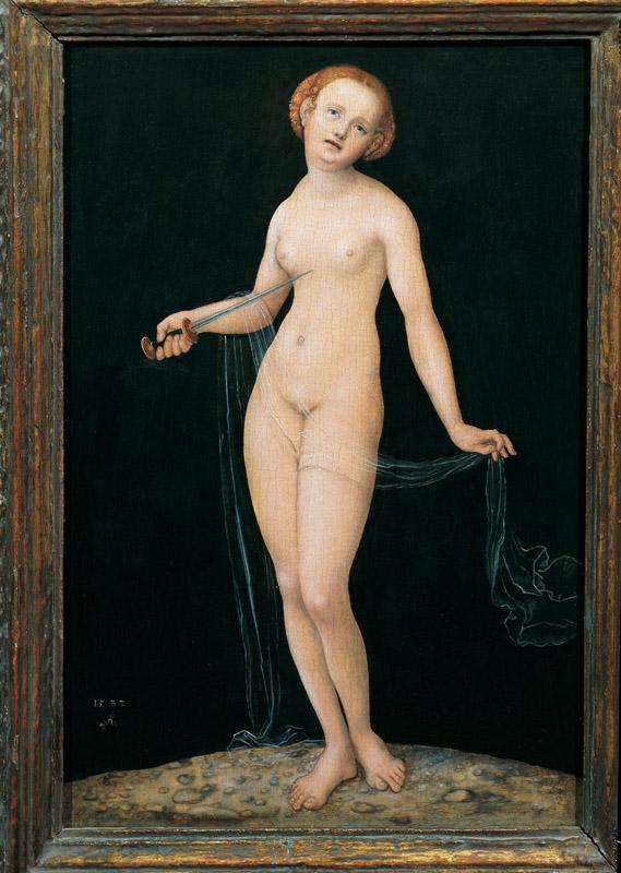 Lucas Cranach the Elder - Lucretia, 1532