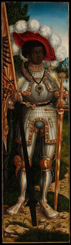 Lucas Cranach the Elder and Workshop--Saint Maurice