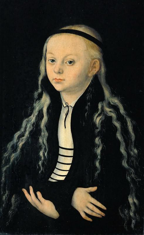 Lucas Cranach the elder -- Magdalena Luther