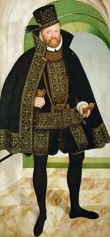 Lucas Cranach the younger -- August, Elector of Saxony