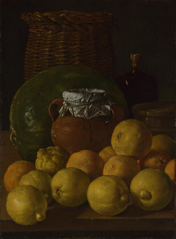 Luis Melendez - Still Life with Lemons and Oranges