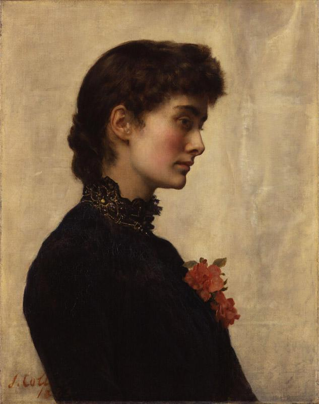 Marion Collier (nee Huxley) by John Collier