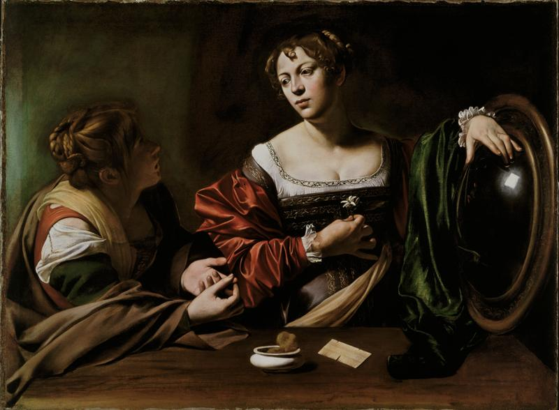 Martha and Mary Magdalene (c.1599)