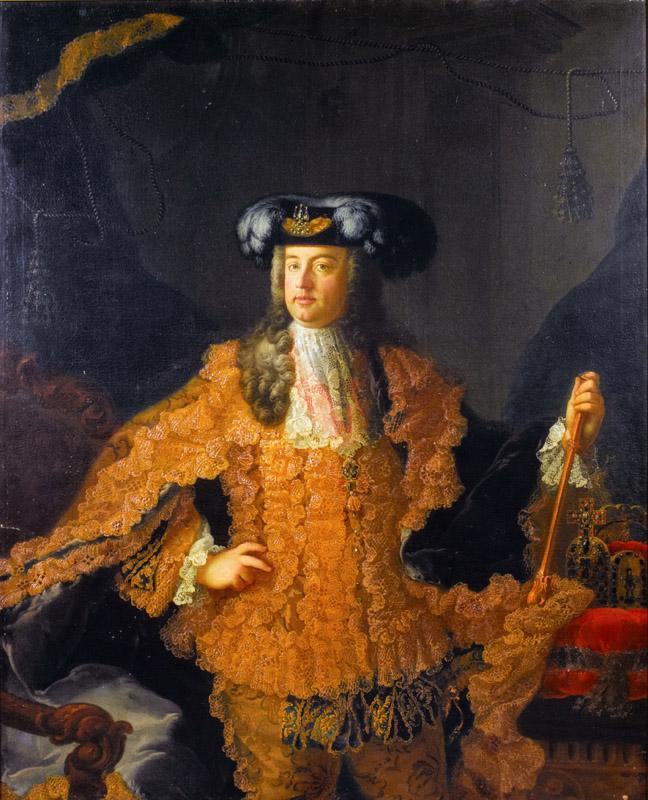 Martin Meytens the Youger - Portrait of Francis I