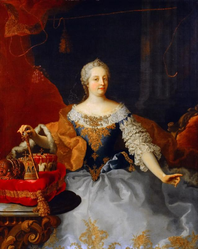 Martin Meytens the Youger - Portrait of Maria Theresa