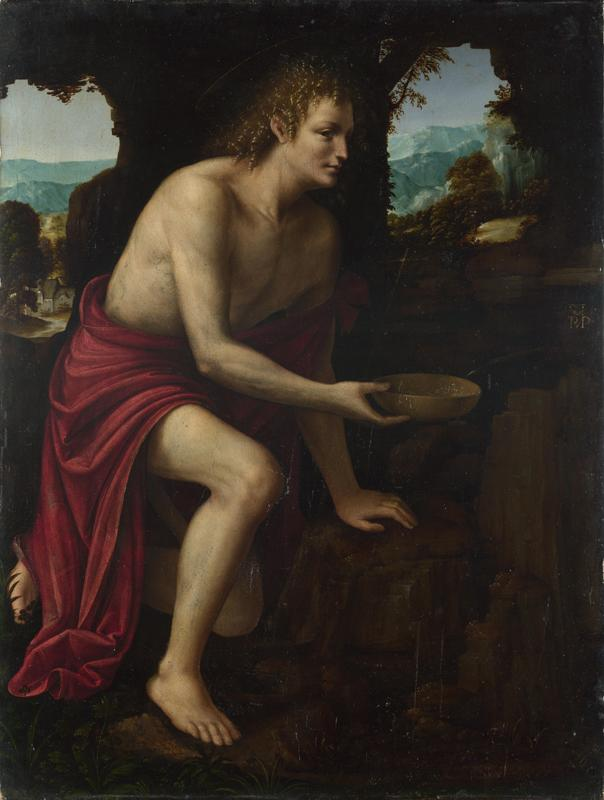 Martino Piazza - Saint John the Baptist in the Desert