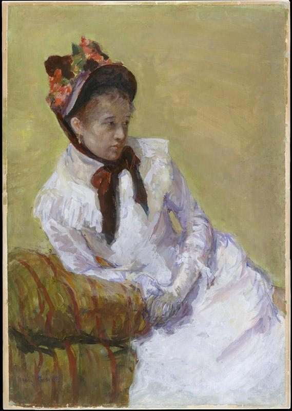 Mary Cassatt--Portrait of the Artist