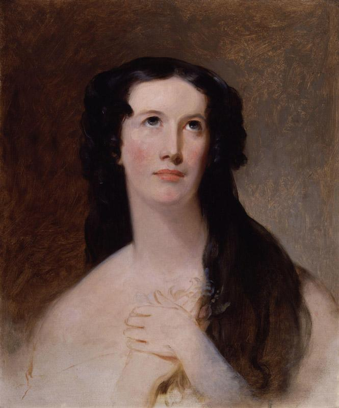 Mary Ann Paton (Mrs Wood) by Thomas Sully