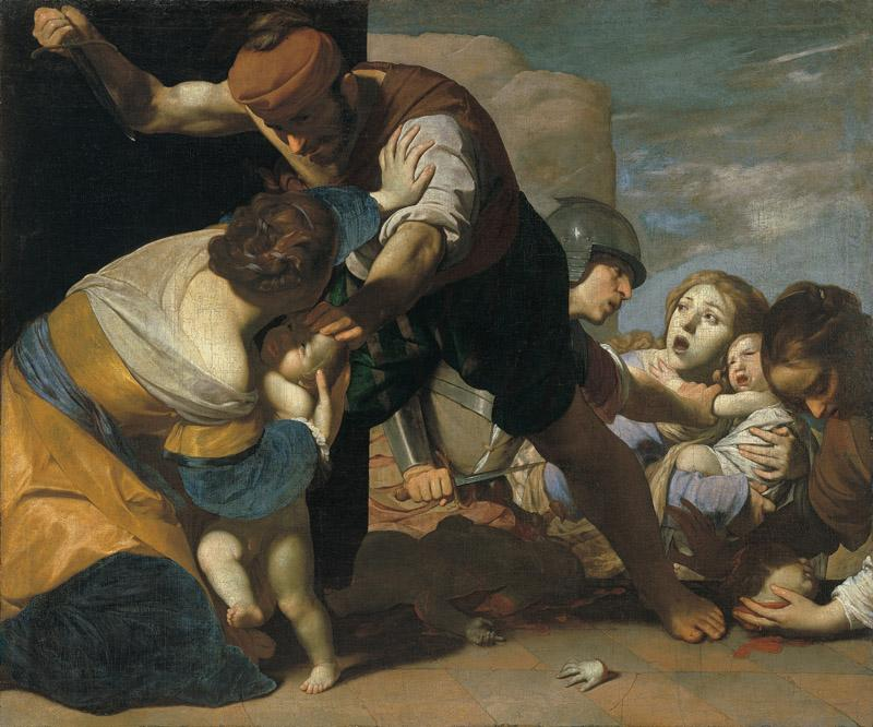 Massimo Stanzione - The Massacre of the Innocents, after 1630