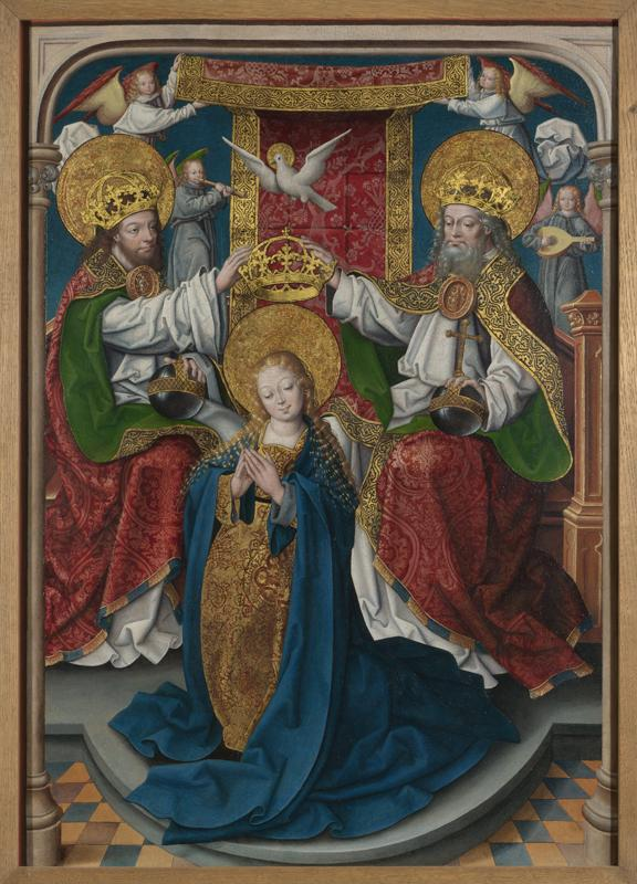 Master of Cappenberg (Jan Baegert) - The Coronation of the Virgin