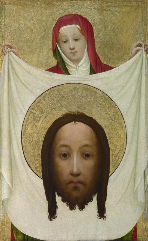 Master of Saint Veronica - Saint Veronica with the Sudarium
