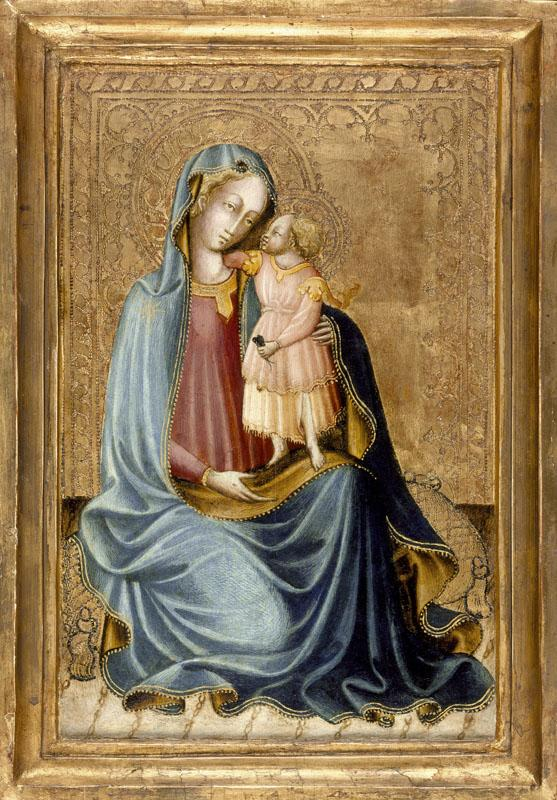 Master of the Bargello Judgment of Paris - Madonna and Child