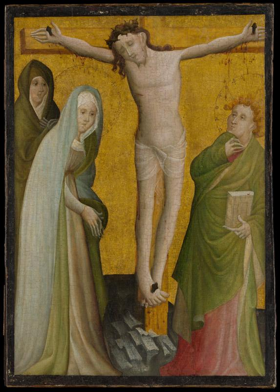 Master of the Berswordt Altar--The Crucifixion