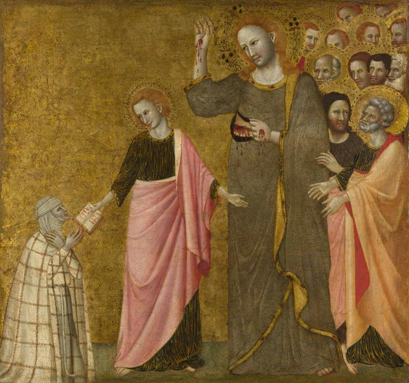 Master of the Blessed Clare - Vision of the Blessed Clare of Rimini