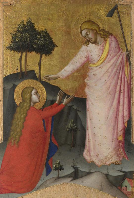 Master of the Lehman Crucifixion - Noli me Tangere