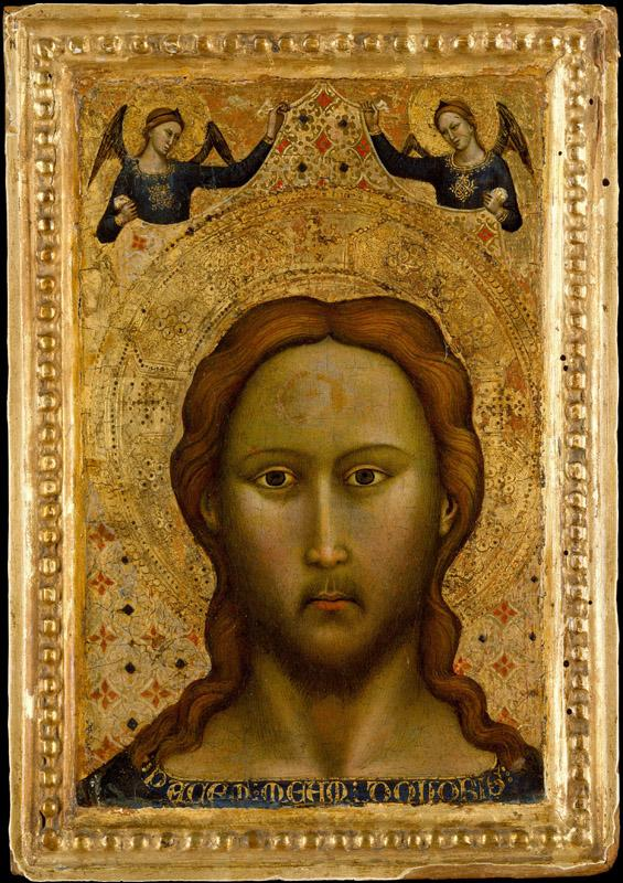 Master of the Orcagnesque Misericordia--Head of Christ