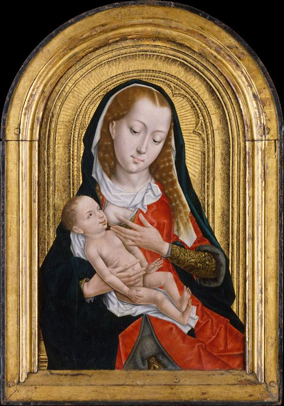 Master of the Saint Ursula Legend--Virgin and Child