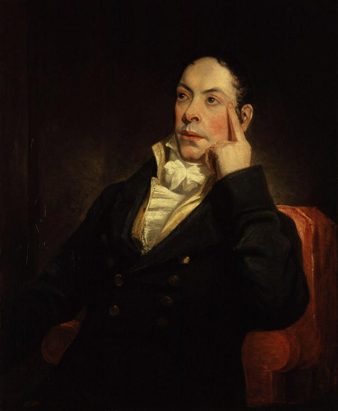 Matthew Gregory Lewis by Henry William Pickersgill