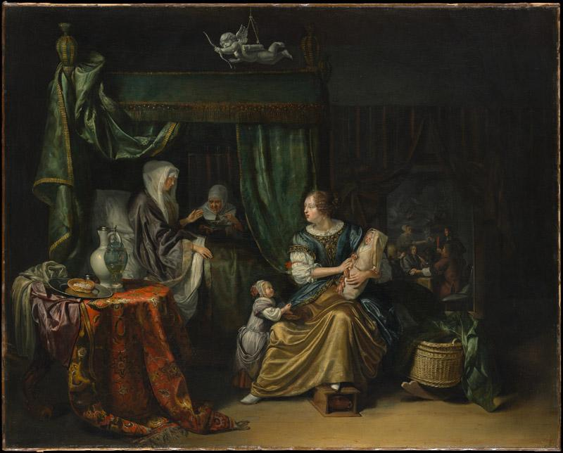 Matthijs Naiveu--The Newborn Baby
