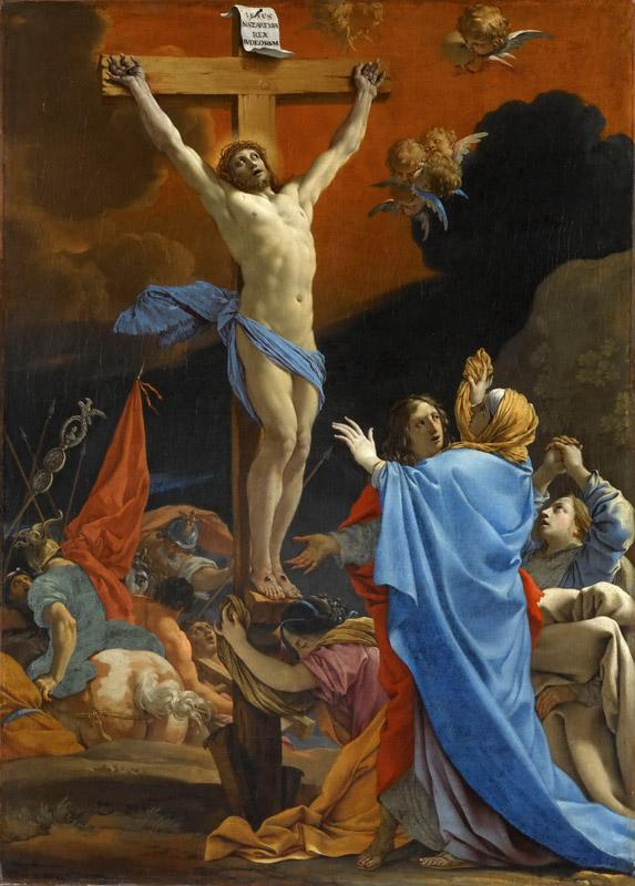 Michel Dorigny -- Christ on the Cross