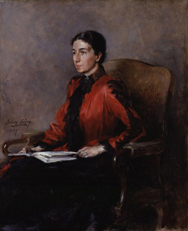 Mrs Humphry Ward (Mary Augusta Ward (nee Arnold)) by Julian Russell Story