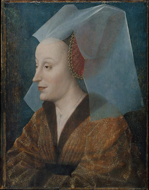 Netherlandish Painter--Portrait of a Noblewoman, Probably Isabella of Portugal (1397-1472)
