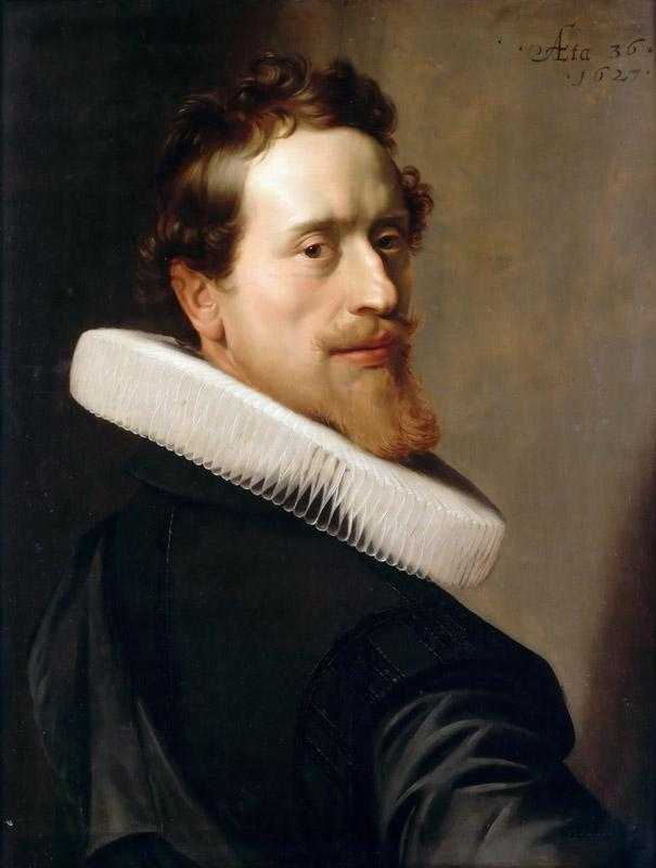 Nicolaes Eliasz. Pickenoy -- Self-portrait at the age of 36 years
