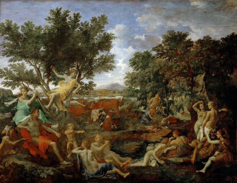 Nicolas Poussin -- Apollo and Daphne