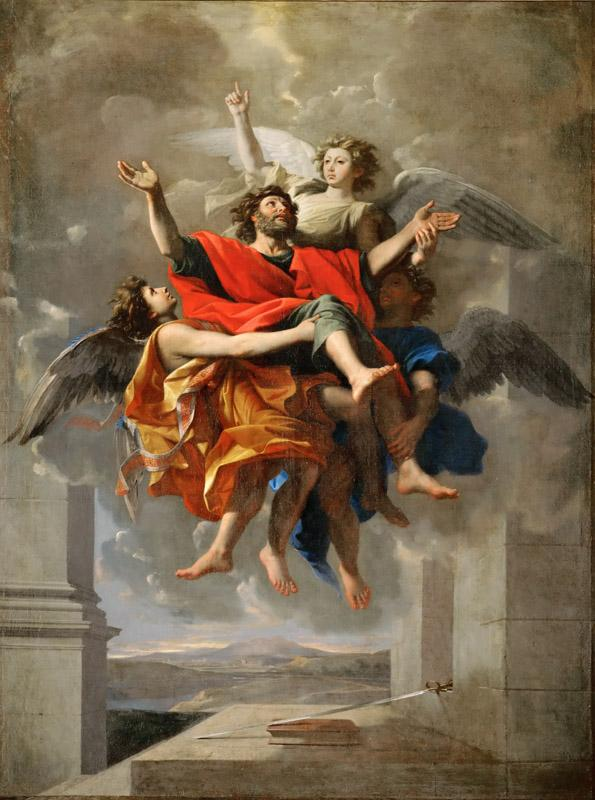 Nicolas Poussin -- Apotheosis of Saint Paul