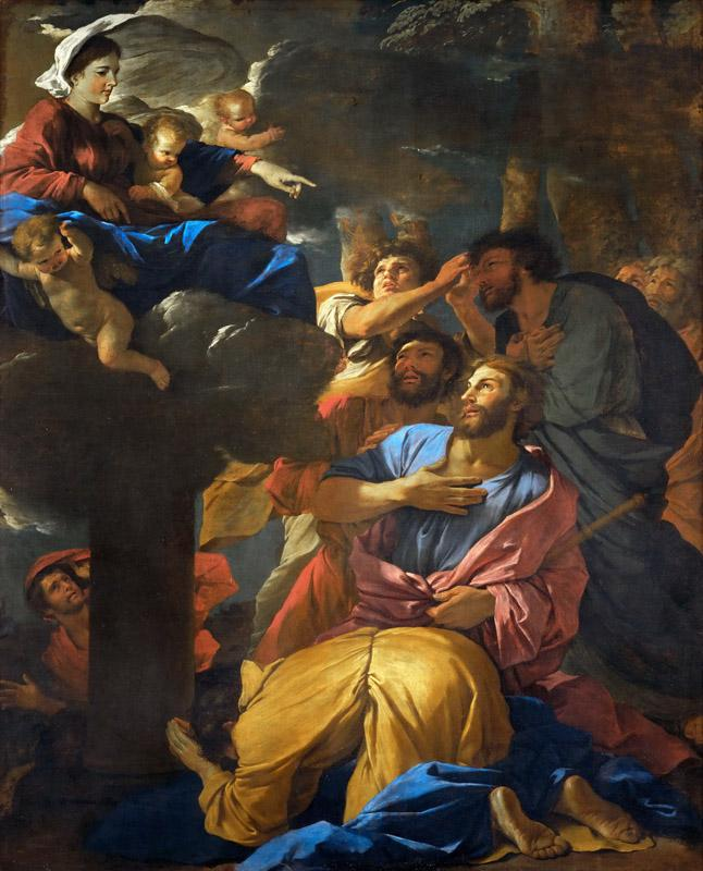 Nicolas Poussin -- Appearance of the Virgin to Saint James the Greater