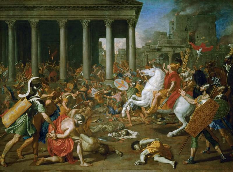 Nicolas Poussin -- Destruction of the Temple of Jerusalem