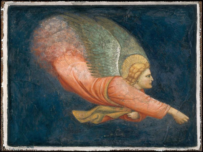 North Italian Painter--Two Angels