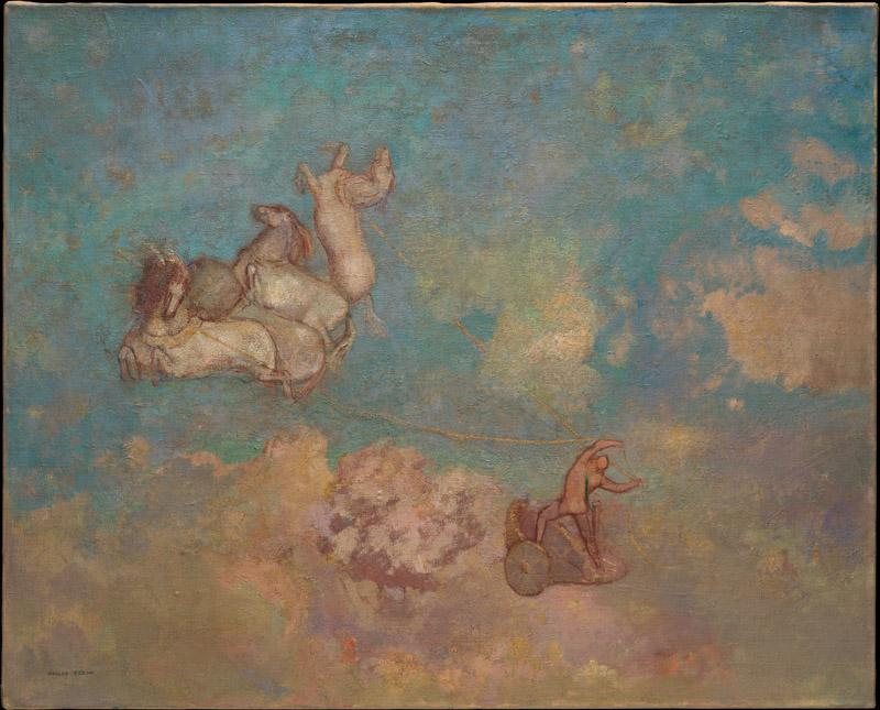 Odilon Redon--The Chariot of Apollo