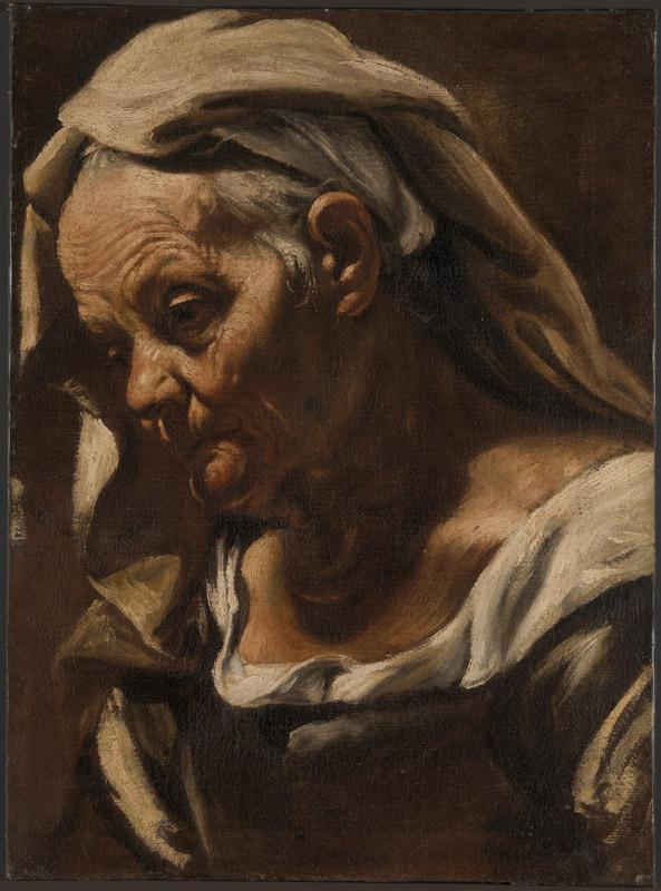 Orazio Borgianni--Head of an Old Woman