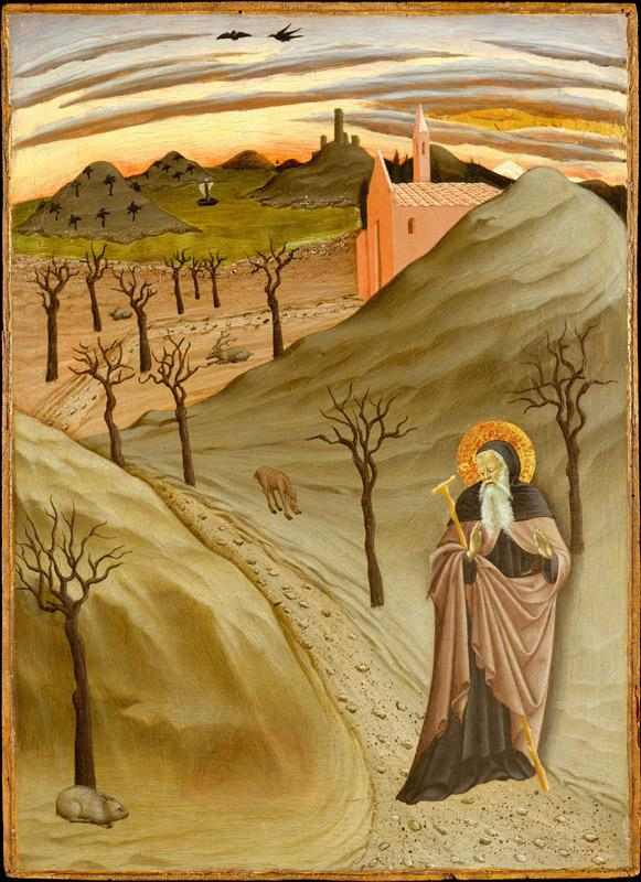 Osservanza Master--Saint Anthony the Abbot in the Wilderness