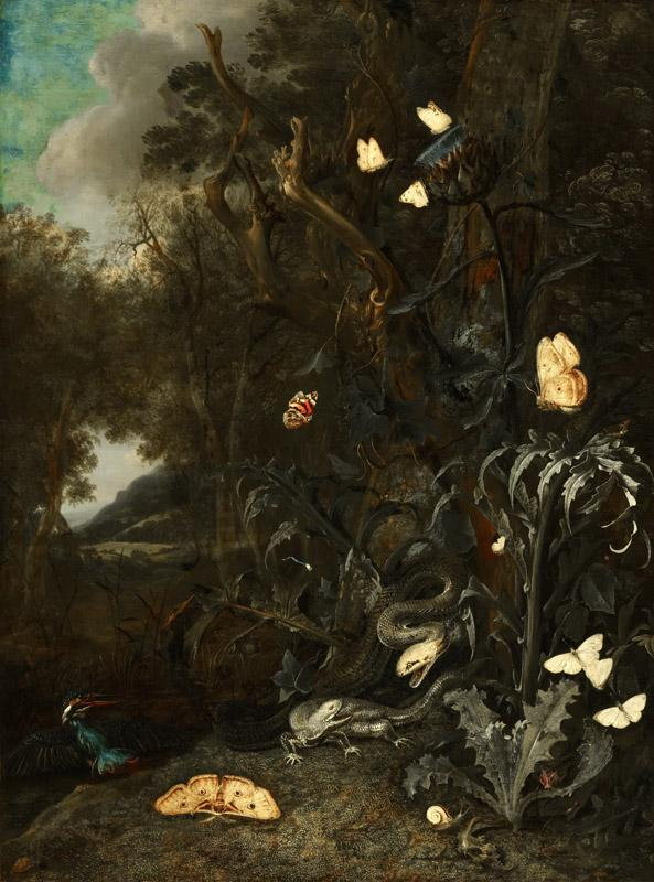 Otto Marseus van Schrieck - Plants and Insects