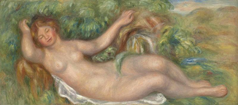 PIERRE-AUGUSTE RENOIR -LA SOURCE