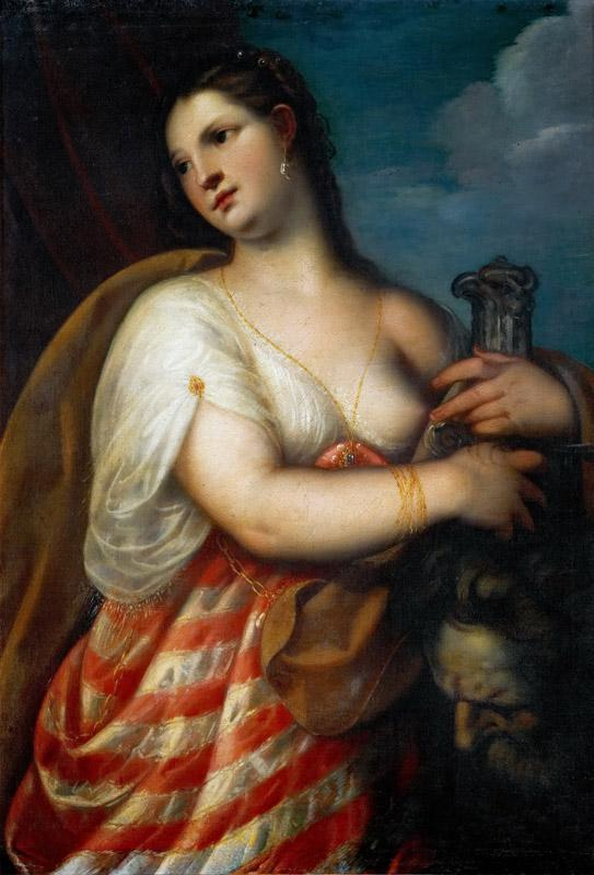 Padovanino (Italian painter, 1588-1649) -- Judith with the head of Holofernes