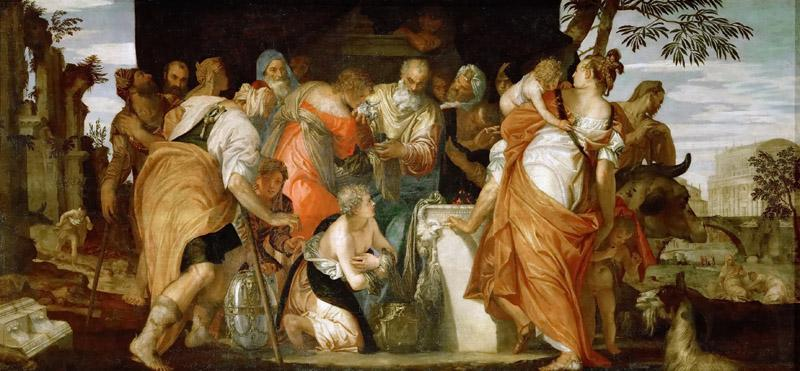 Paolo Veronese -- Anointing of David