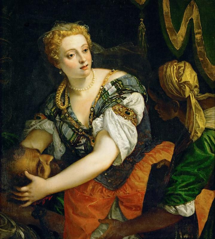 Paolo Veronese -- Judith with the Head of Holofernes