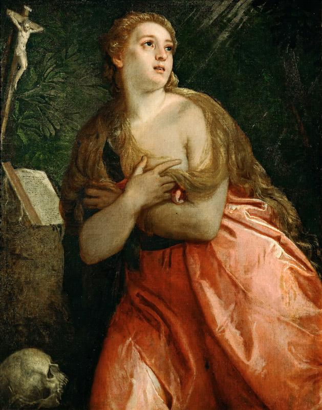 Paolo Veronese -- Mary Magdalen Penitent