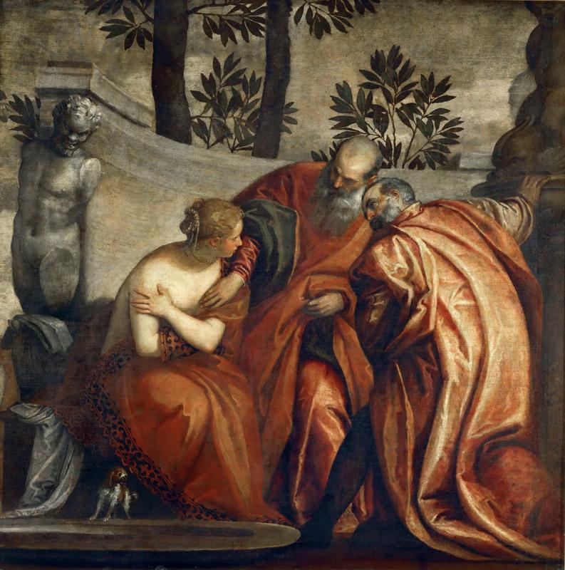 Paolo Veronese and Workshop -- Susana and the Elders