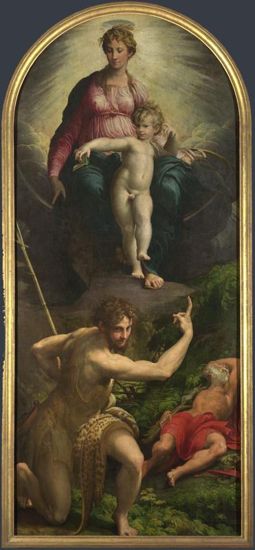 Parmigianino - The Madonna and Child with Saints