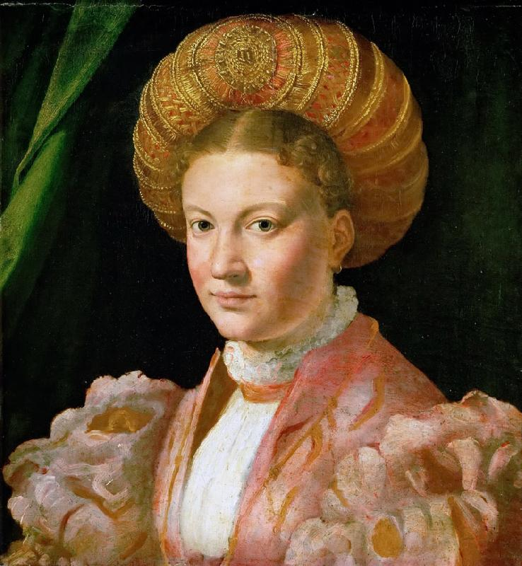 Parmigianino -- Portrait of a young woman