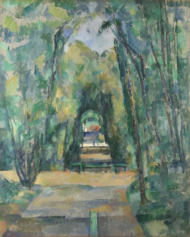 Paul Cezanne - Avenue at Chantilly