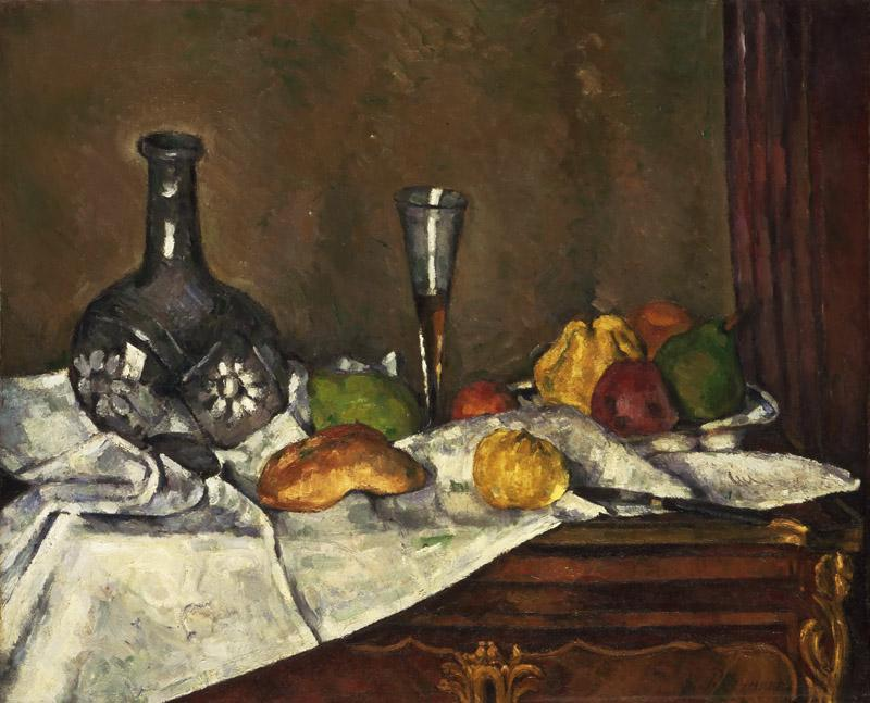 Paul Cezanne, French, 1839-1906 -- Still Life with a Dessert