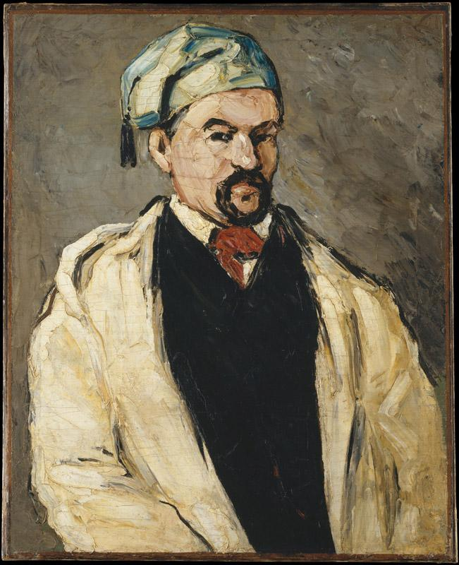 Paul Cezanne--Antoine Dominique Sauveur Aubert (born 1817), the Artist Uncle