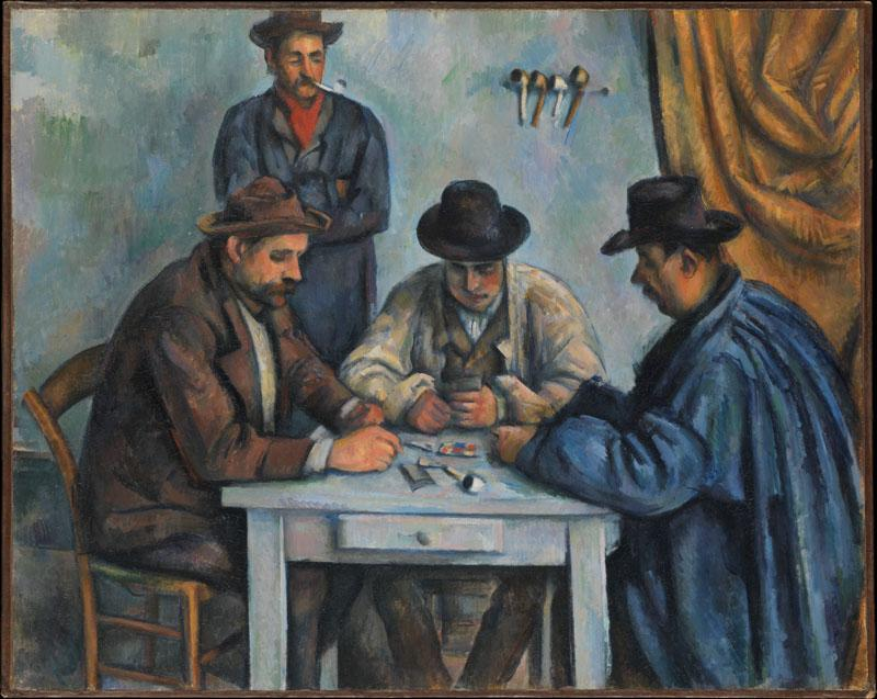 Paul Cezanne--The Card Players81
