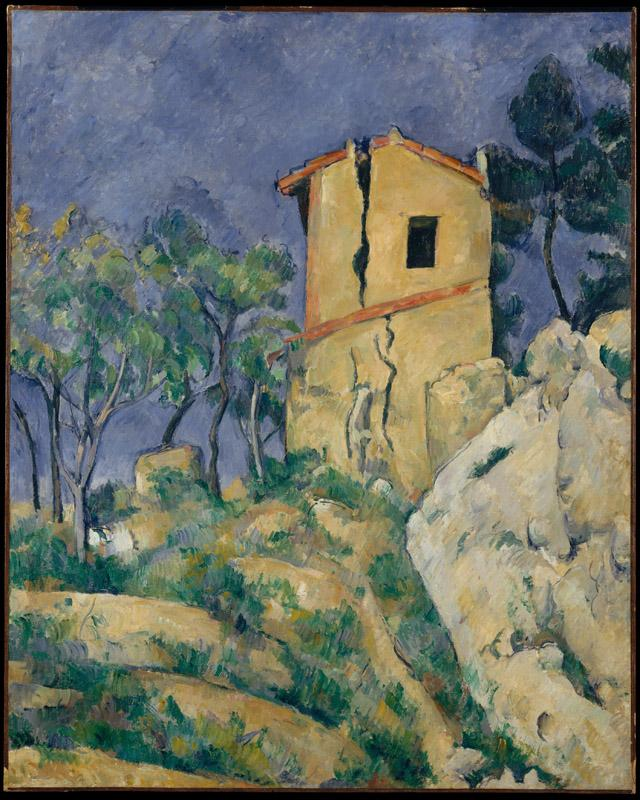 Paul Cezanne--The House with the Cracked Walls