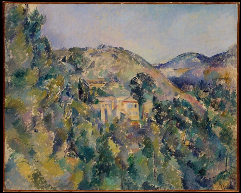 Paul Cezanne--View of the Domaine Saint-Joseph